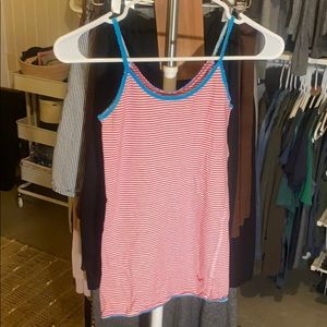 American Eagle striped tank top.